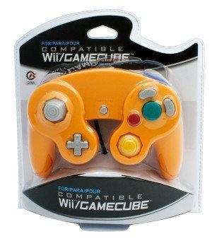 Neue Gamecube Controller Orange