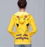 Pikachu Hoodie Vest Gedragen
