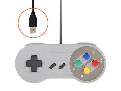 Nieuwe USB Super Nintendo Controller