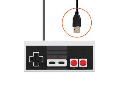 Nieuwe USB Nintendo NES Controller