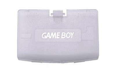 Game Boy Advance Batteriedeckel (Transparent Blue)