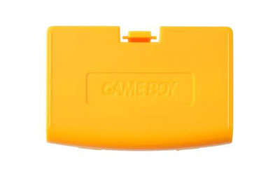 Game Boy Advance Batteriedeckel (Orange)