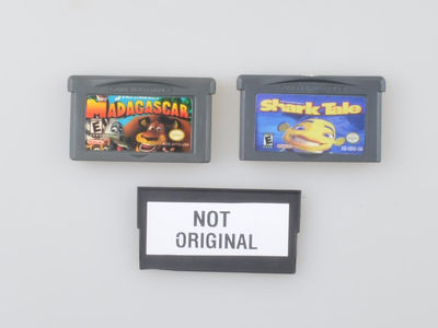 2x Dreamworks Pirate Game - Gameboy Advance - Outlet