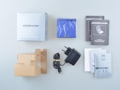 Gameboy Advance SP Blue [Complete]