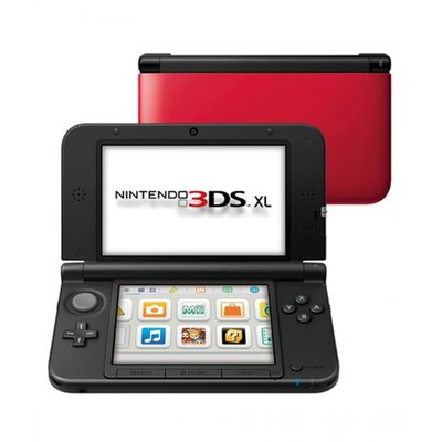 3DS XL Red Black