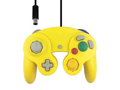 Neuer GameCube Controller Gelb