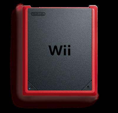 Nintendo Wii Console Mini Red