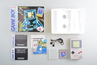 Gameboy Classic Original Grey Tetris Pack Premium [Complete]