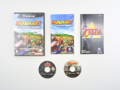 Mario Kart Double Dash + Zelda Collector's Edition