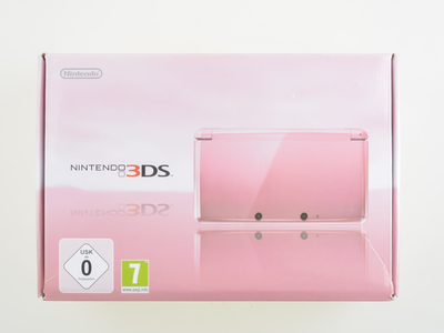 Nintendo 3DS Coral Pink [Complete]