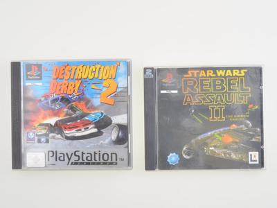 Destruction Derby 2/ Star Wars - Playstation 1 - Outlet
