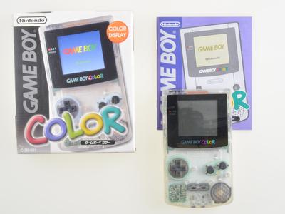 Game Boy Color White Transparant