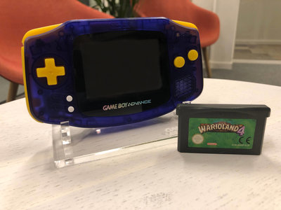 Gameboy Advance Limited Wario Edition + Wario Land 4