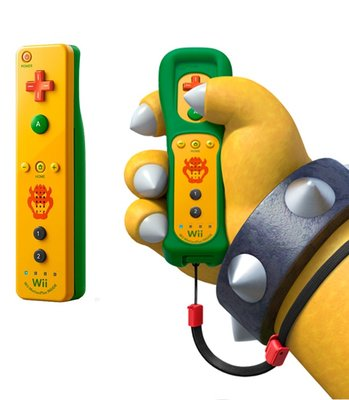 Nintendo Wii Remote Controller Motion Plus Bowser Edition