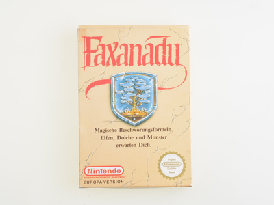 Faxanadu [Complete]
