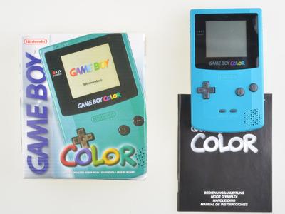 Nintendo Gameboy Color Blue [Complete]