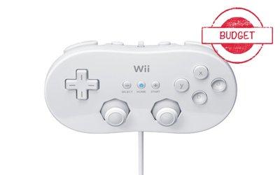 Originele Wii Classic Controller White - Budget