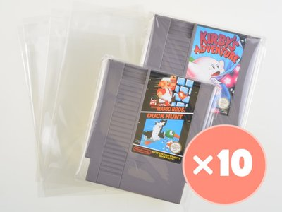 10x Nintendo NES Game Cart Bag