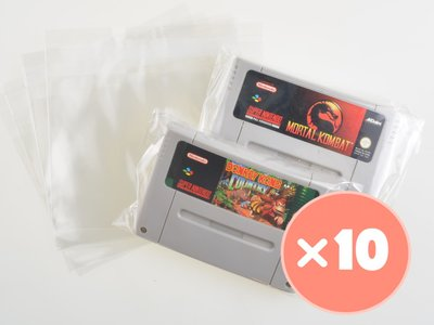 10x Super Nintendo Cart Bag