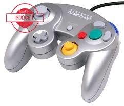 Originele Nintendo Gamecube [NGC] Controller Silver - Budget