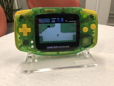 Gameboy Advance Limited Zelda Edition + IPS V2 Backlight