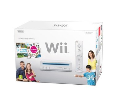 Nintendo Wii Family Pack White Incl. Wii Party and Wii Sports [Complete]