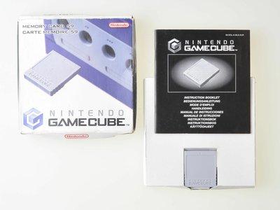 Nintendo Gamecube [NGC] Memory Card 59 Bloks