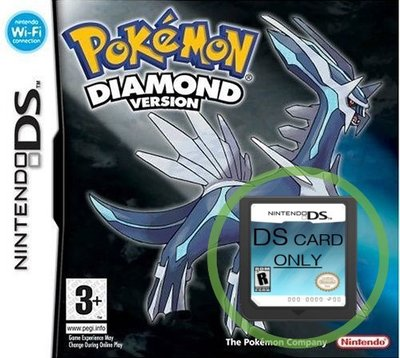 Pokemon Diamond  -  lose Spielpatrone