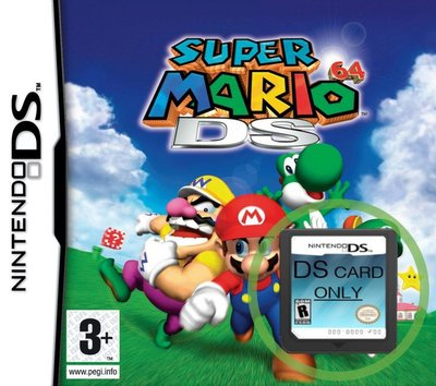 Super Mario 64 DS  -  lose Spielpatrone