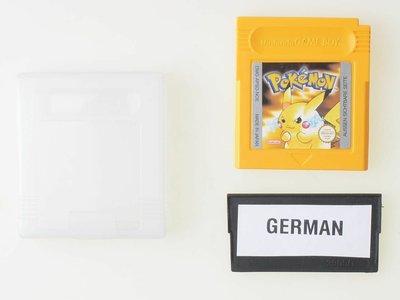 Pokemon Yellow GERMAN