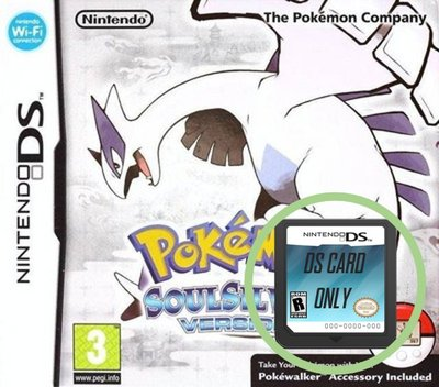 Pokémon - SoulSilver Version - Cart Only