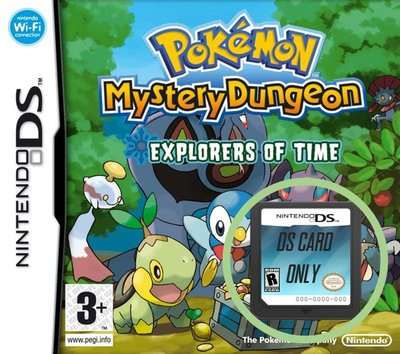 Pokémon Mystery Dungeon - Explorers of Time - Cart Only