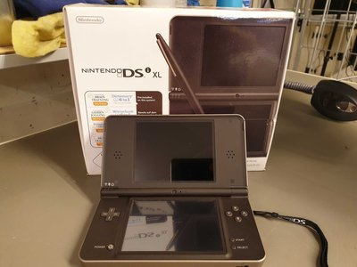 Nintendo DSi XL Gold Brown [Complete]