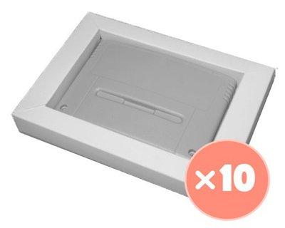 10x Super Nintendo Game Cartridge Inlay