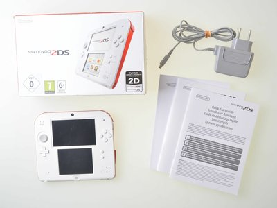 Nintendo 2DS White-Red [Complete]