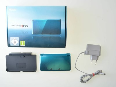 Nintendo 3DS Aqua Blue Complete [BUDGET]