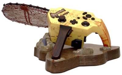 Resident Evil 4 Limited Edition Chainsaw Controller