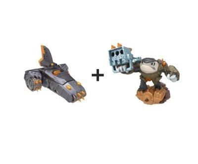 Skylanders Superchargers Shark Shooter Terrafin + Shark Tank