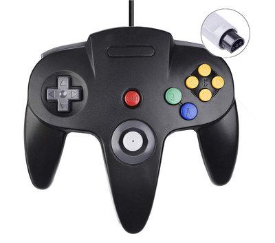 Nieuwe Nintendo 64 [N64] Controller Black
