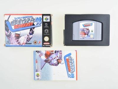 Wayne Gretzky's 3D Hockey 98 (Complete)