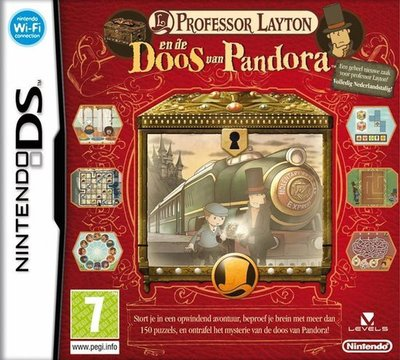 Professor Layton en de Doos van Pandora