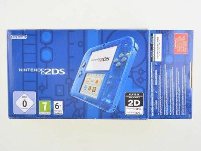 Nintendo 2DS Crystal Blue [Complete]
