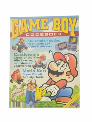 Game Boy Codeboek