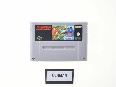 Super Mario World 2 - Yoshi's Island (German)