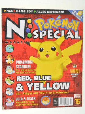 N64 Magazine - Red, Blue & Yellow