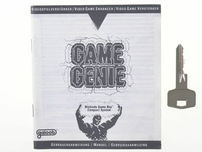 Game Genie Manual - Game Boy Compact System