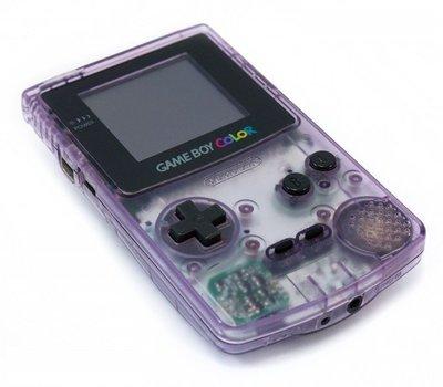 Gameboy Color Transparent Purple