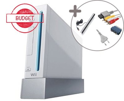 Nintendo Wii Console White [Budget]