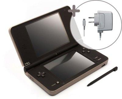 Nintendo DSi XL Gold Brown
