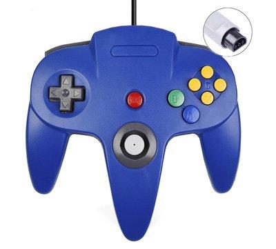 Neue Nintendo 64 [N64] Controller Blue